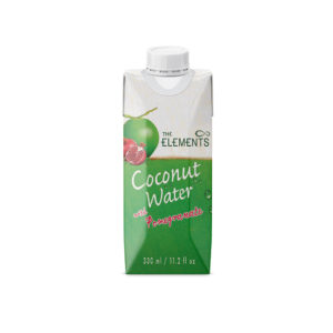agua de coco granada the elements 330ml
