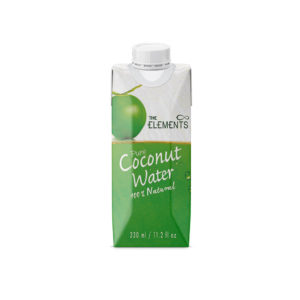 agua de coco the elements 330ml