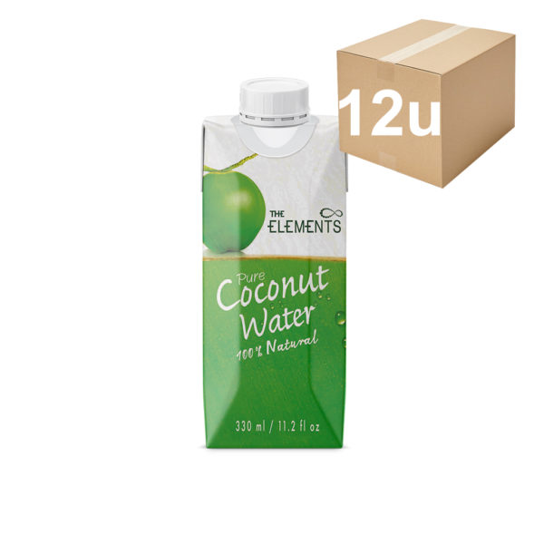 agua de coco the elements 330ml 12u