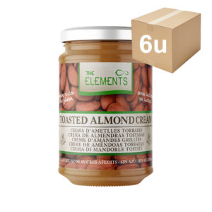 crema de almendras the elements 6u